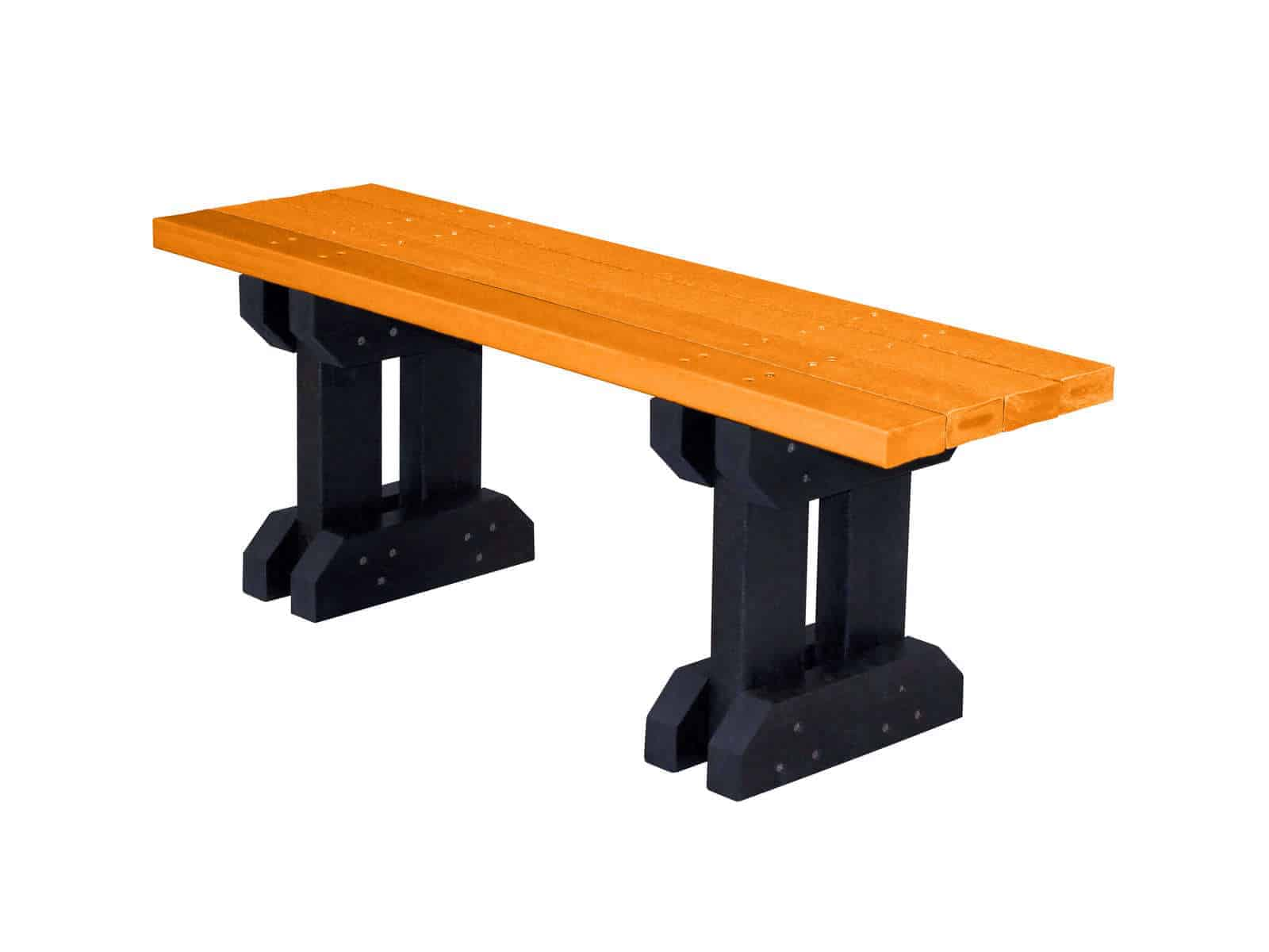 TDP Toucan Recycled Plastic Coloured Trestle Bench for Children