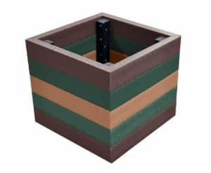 TDPs Coloured Recycled Plastic Planter