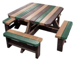 Parrot Junior Recycled Plastic Picnic Table