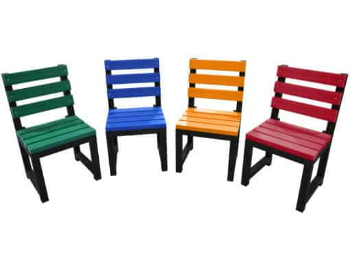 TDP Cromford Garden Chairs Made From Recycled Plastic Waste