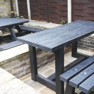 TDP Denby Dale Garden Dining Set made from recycled plastic waste